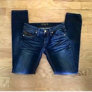 NWOT Express Rerock Skinny Jeans Sz 0 25 R